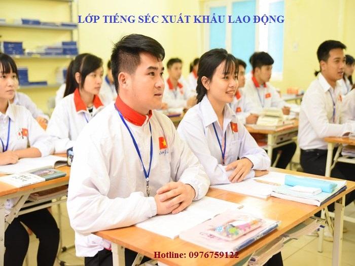Lớp Tiếng Séc Xuất Khẩu Lao Động