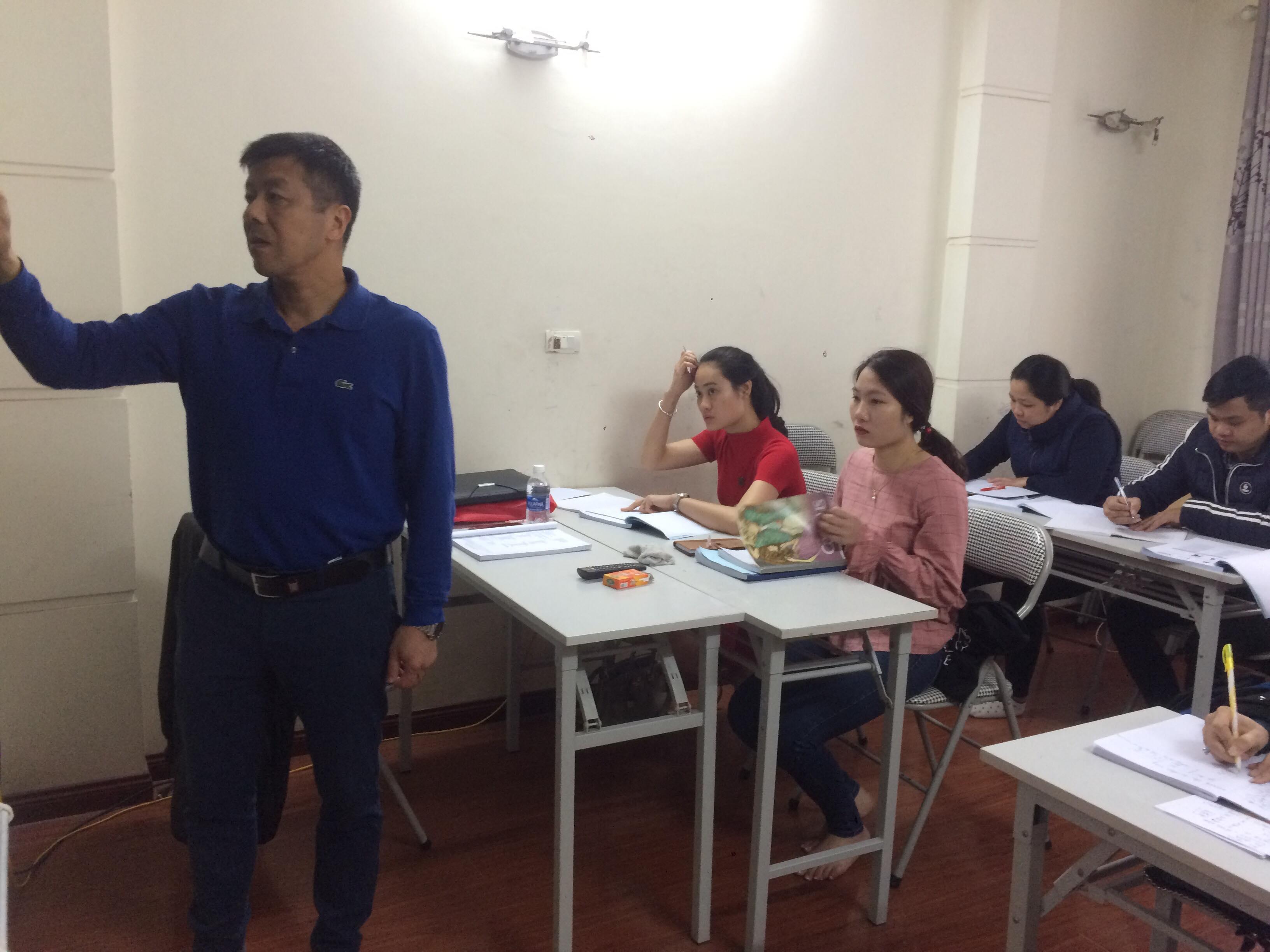 Lớp tiếng Thái lan học thứ 7 chủ nhật