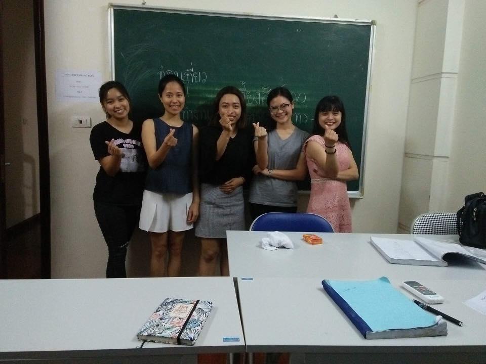 Trải nghiệm các lớp học ngoại ngữ