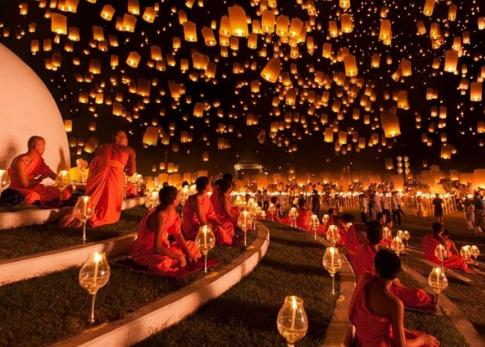 Các lễ hội trong năm tại Thái Lan